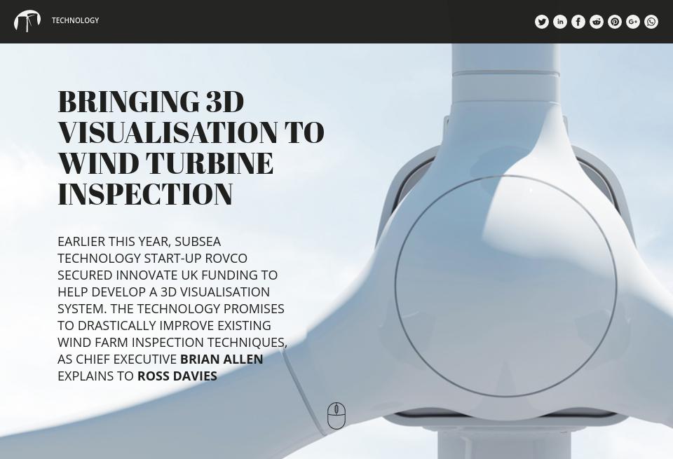 Bringing 3D visualisation to wind turbine inspection